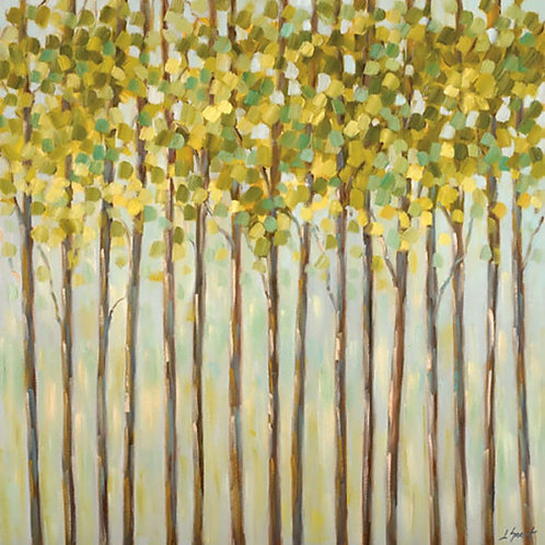 Different Shades of Green Canvas by Libby Smart
