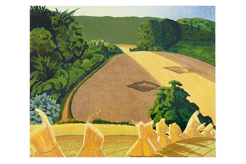 The Cornfield Print by John Nash