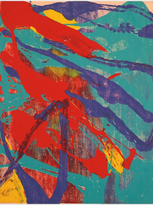 Andy Warhol Abstract Painting