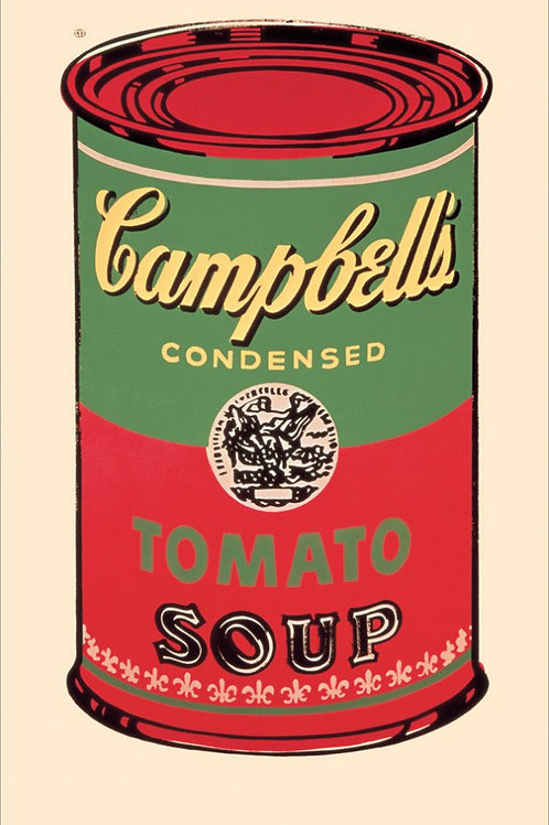 Andy Warhol Soup Can Posters
