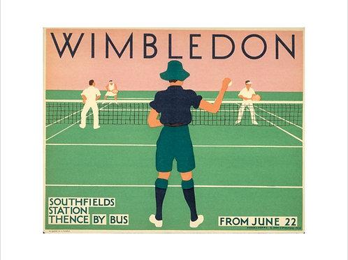 Vintage Wimbledon Posters UK