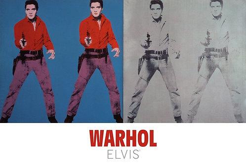 Andy Warhol Elvis Prints UK