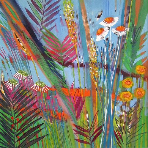 Tropics Canvas Art Print by Shyama Ruffell