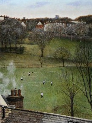 Football Limited Edition Print by Peter Messer