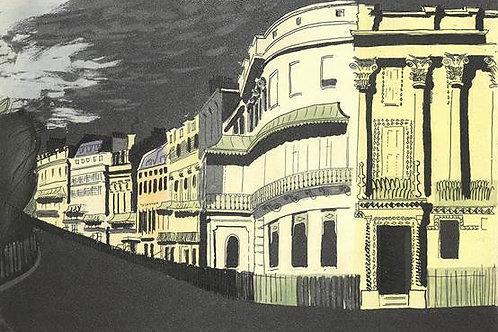 Kemptown Brighton Print by John Piper