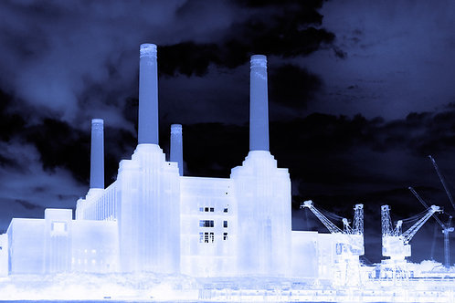 Battersea Power Station 1 Canvas by Arno