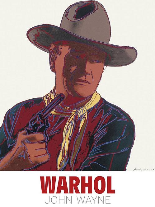 John Wayne Print by Andy Warhol