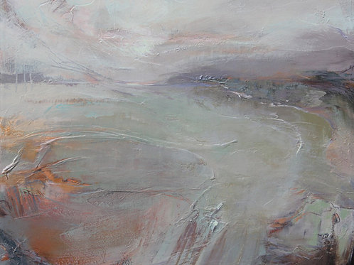 In the Stillness Canvas by Kathy Ramsay Carr