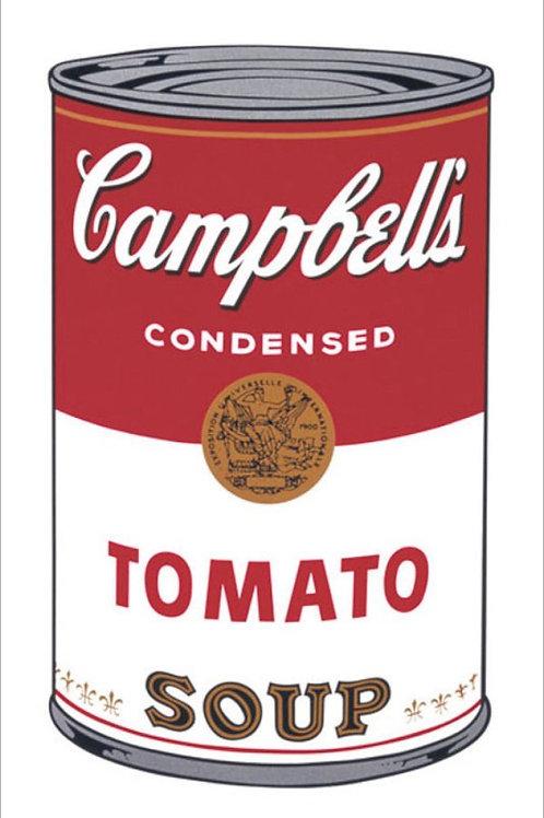 Warhol Tomato Soup Print UK