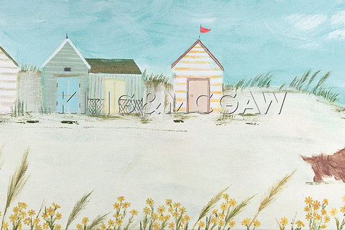 Windswept Canvas by Hannah Cole
