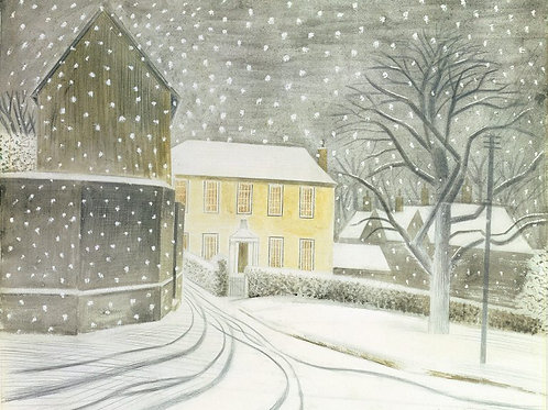 Watercolour Paintings by Eric Ravilious