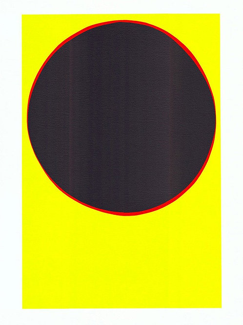 Black Sun Print by Terry Frost