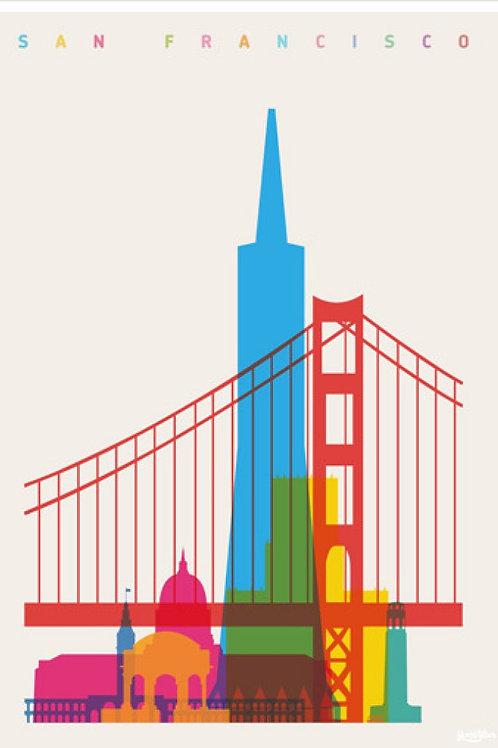 San Francisco Canvas Print by Yoni Alter