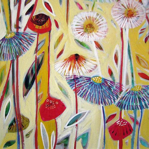 Mellow Yellow Canvas Print by Shyama Ruffell
