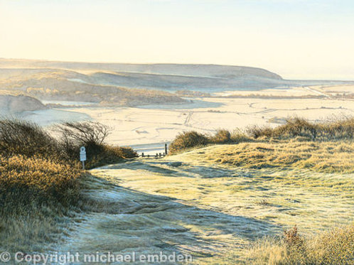 Autumn Frost Limited Edition Print by Michael Embden
