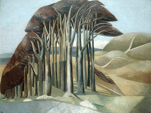 Wood on the Downs Limited Edition Print by Paul Nash