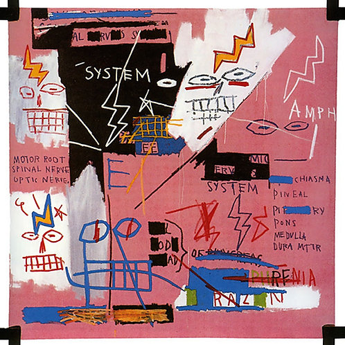 Six Fifty Poster by Jean Michel Basquiat