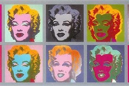 Andy Warhol Ten Marilyns Poster UK