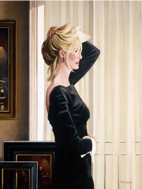 Black on Blonde Limited Edition Print by Jack Vettriano