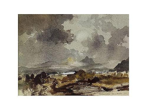 Highland Scene Print by Rowland Hilder