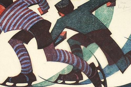 Sybil Andrews Art Print
