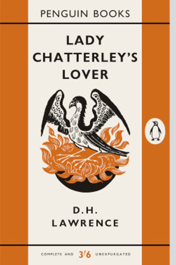 Lady Chatterley's Lover Penguin Book Cover Print