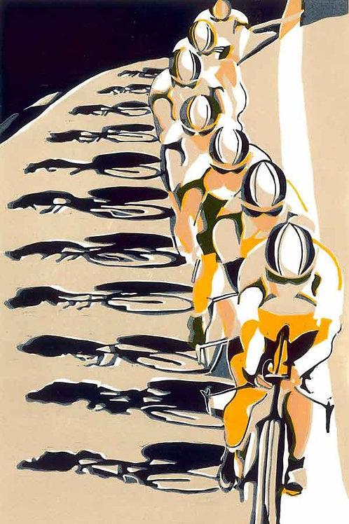 The Chain Gang Print by Lisa Takahashi