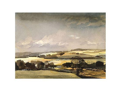 The Downs Print by Rowland Hilder