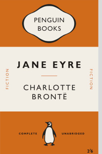 Jane Eyre Book Cover Print