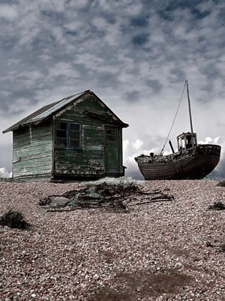 Dungeness Canvas Print by Gill Copeland