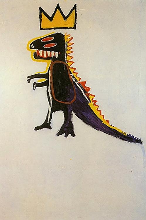 Pez Dispenser Poster Basquiat