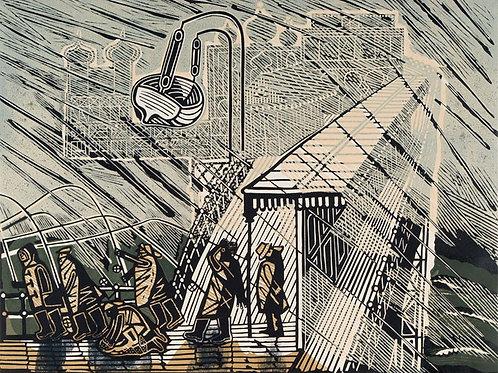 Brighton Linocuts by Edward Bawden