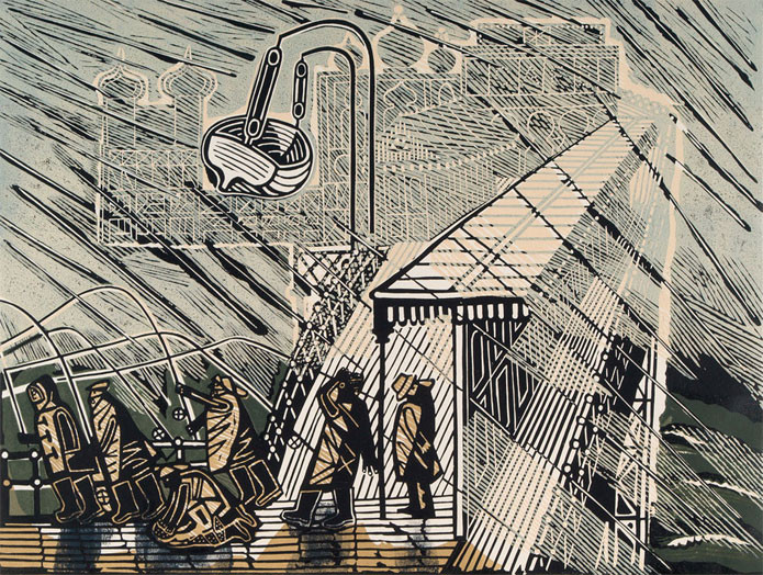 Buy Edward Bawden Linocuts of Brighton, Sussex at The Fine Art Company UK.