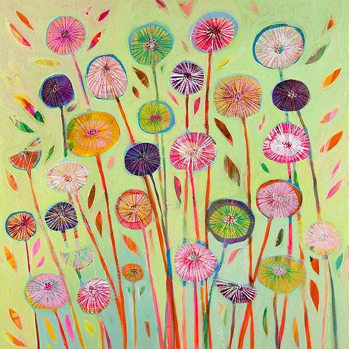 One O'Clock Canvas Print by Shyama Ruffell