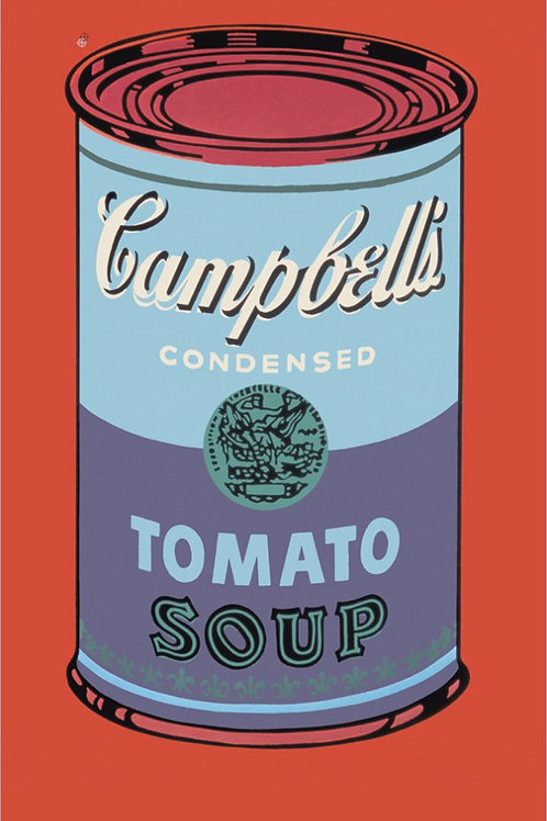 Andy Warhol Soup Can Print