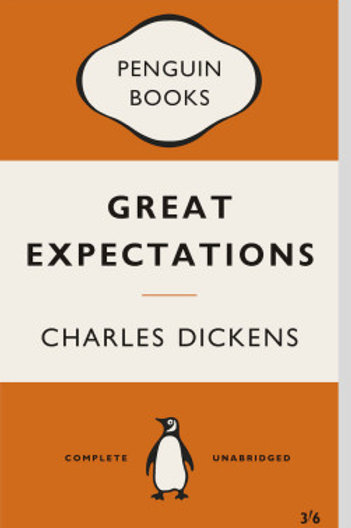 Great Expectations Book Cover Print