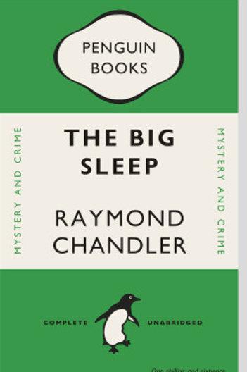 Big Sleep Book Cover Print