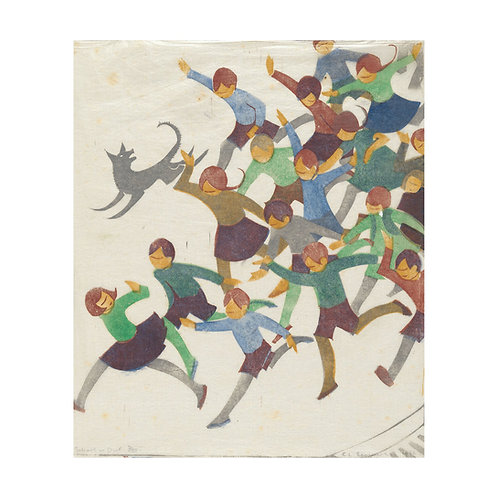 School is Out Art Print by Ethel Spowers