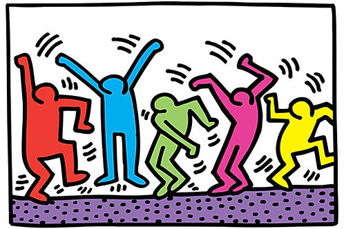 Untitled Keith Haring Poster UK