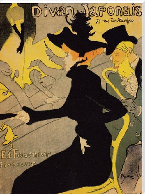 Toulouse Lautrec Canvas
