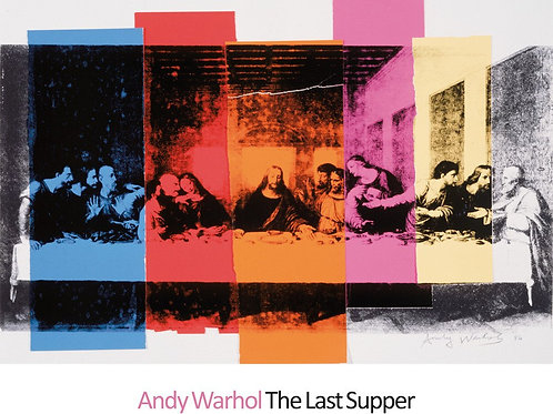Last Supper Art Print Andy Warhol