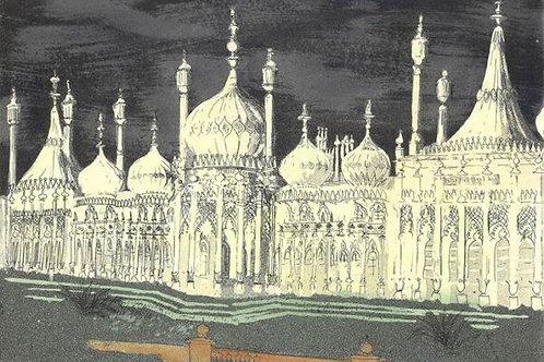 Royal Pavilion Brighton Print by John Piper