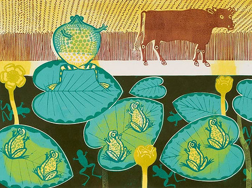 A Frog and an Ox Limited Edition Print by Edward Bawden