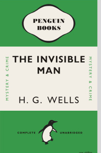 Invisible Man Penguin Book Cover