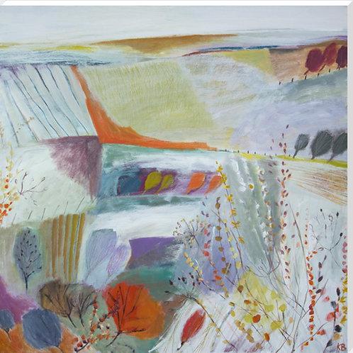 Karen Birchwood Landscape Paintings