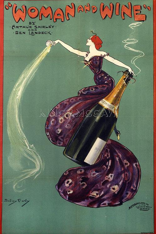 Art Nouveau Wine Posters