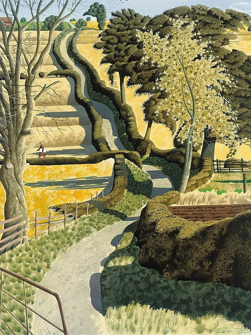 Simon Palmer Drawing Across the Ocre Print