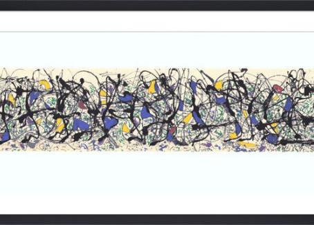Focus on 'Summertime' Art Print by Jackson Pollock