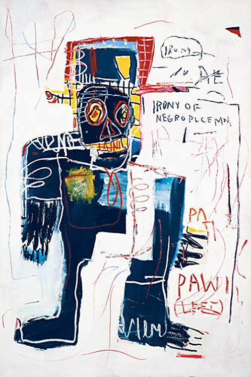 Irony of Negro Policeman Poster by Basquiat