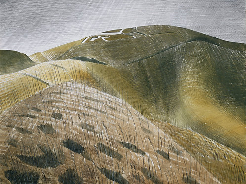 Vale of the White Horse Print by Eric Ravilious